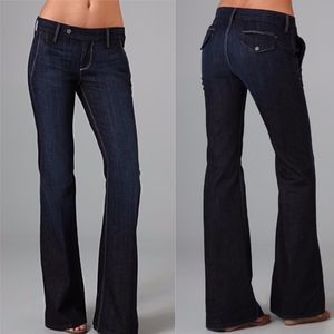 7 For All Mankind Miller Trouser in New York Dark